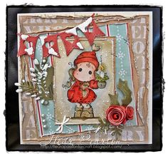 A passion for craft-xmas card