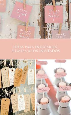 Ideas para indicar a tus invitados la mesa que les corresponde   El Blog de una Novia