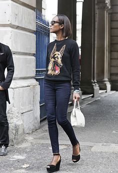 Balenciaga sweater...yes, please!