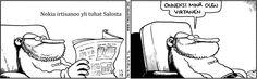 Lue sarjakuva Fingerpori Funny, Funny Parenting, Hilarious, Fun, Humor