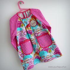bata escolar y set escolar artesanal personalizado 2015 punt a punt-052 Baby Shirts, Pillowcase Dresses, Angel, Diy, Fashion, Sewing Projects, Pinafore Dress, Patron Robe, School Uniforms