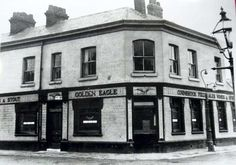 The Golden Eagle, Lodge Street, Miles Platting, Manchester. Anthony Burgess, author of A Clockwork Orange, lived above this pub as a child.