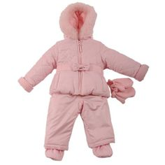 Quilted Princess Snow Suit 12m-24m