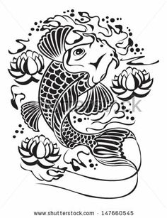 vector images koi - Google Search