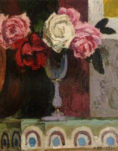 Vanessa Bell: Roses.