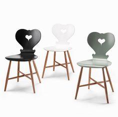 Stuhl von Designerin Sabine Bischof Alpine Furniture, Plywood Furniture, Modern Furniture, Furniture Design, Ant Chair, Modern Chairs, Modern Room, Chair Design, Design Design