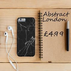 "Black and White Marble✔ Apple and Samsung Galaxy Model ✔£4.99 ✔WorldWide Shipping use discount code ""pinterest123"" to get 10% off at checkout"