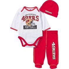NFL San Francisco 49ers Baby Boy Bodysuit 17a8b1e26