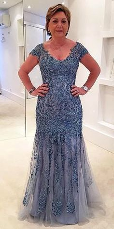 Plus Size Beaded Sequin Cap Sleeve Mother of the Bride Dress Formal Mermaid Gown, Shop plus-sized prom dresses for curvy figures and plus-size party dresses. Ball gowns for prom in plus sizes and short plus-sized prom dresses for Mother Of The Bride Plus Size, Mother Of The Bride Gown, Mother Of Groom Dresses, Mothers Dresses, Plus Size Prom Dresses, Mob Dresses, Formal Dresses, Party Dresses, Plus Size Gowns Formal