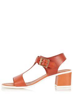Topshop - nala heeled sandals 48p