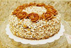 almond and caramel cake.  Que Ricos queques artesanales.