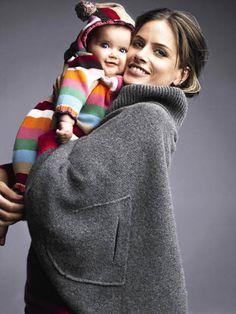 Amanda Peet and her daughter Frances Pen