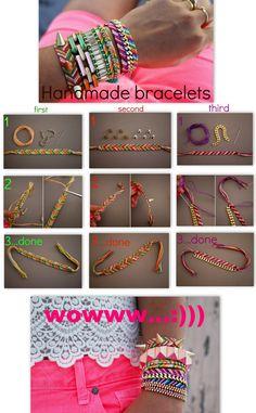 handmade bracelets for Summer