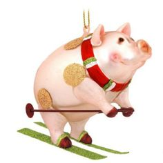 10 Adorable Christmas Ornaments for Pig Lovers ... see more at PetsLady.com ... The FUN site for Animal Lovers