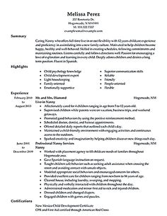 Beautician Resume Example (http://resumecompanion.com) | Resume ...