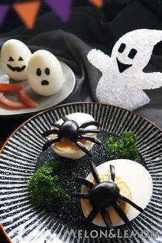 Halloween: spooky eggs   Halloween: uova spaventose
