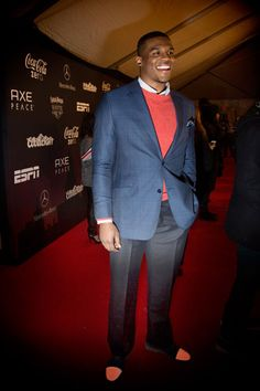 Look who else wears J. Hilburn clothes, Cam Newton. Behind-the-Scenes with Cam Newton at the NFL Honors