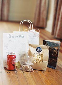 wedding weekend welcome kit with Cheerwine | Nancy Ray #wedding