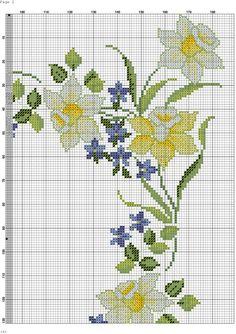 Zz Cross Stitch Pillow, Cross Stitch Borders, Cross Stitch Flowers, Cross Stitch Charts, Cross Stitching, Cross Stitch Embroidery, Hand Embroidery, Cross Stitch Patterns, Seed Bead Patterns