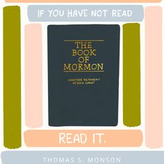 If You Have Not Read the Book of Mormon