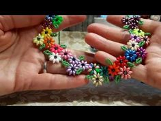► Friendship Bracelet Tutorial 9 - Beginner - The Pumpkin Br Friendship Bracelets Tutorial, Bracelet Tutorial, Beading Projects, Beading Tutorials, Seed Bead Necklace, Seed Beads, Jewelry Patterns, Beading Patterns, Bead Crafts