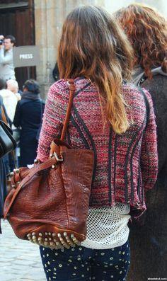 patterns  textures Alexander Wang bag