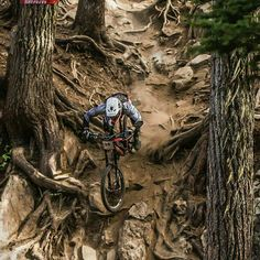 A gnarly descent....!