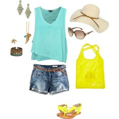 Hello Summer, created by kelsey-blomquist on Polyvore