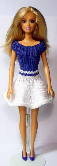Barbie Clothes Patterns, Crochet Barbie Clothes, Baby Doll Clothes, Clothing Patterns, Knitting Dolls Clothes, Knitted Dolls, Baby Born Kleidung, Crochet Barbie Patterns, Free Barbie
