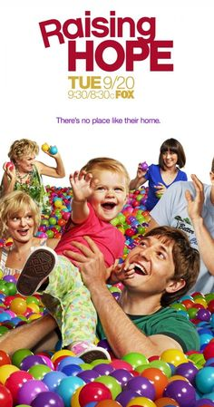 Raising Hope.   Lucas Neff, Martha Plimpton, Garret Dillahunt, Shannon Woodward. Jimmy becomes a single parent to an infant after the mother he had a one-night stand with ends up on death row. Cloris Leachman is a Crack-Up in this show.