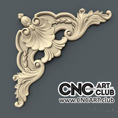 Antique style corner overlay STL model to cut with CNC Cnc Wood Carving, Wood Carving Faces, Wood Carving Designs, Wood Carving Patterns, Baroque Decor, Baroque Design, Wood Art Panels, Decorative Metal Screen, Frame Border Design