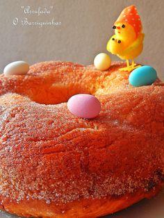 Arrufada com Recheio de Doce de Ovos e Amêndoas