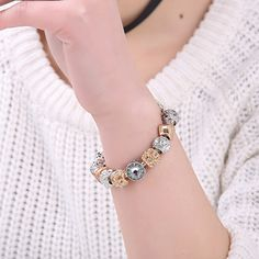 Original Luxury Bracelets Pulseira Gift pandora Bracelets  Only $3.26 => Save up to 60% and Free Shipping => Order Now!  #Earrings #Rings #Handmade #Silver Jewelry #Pandora Bracelets #Nature Stone Jewelry #Jewelry #Necklaces #Bracelets