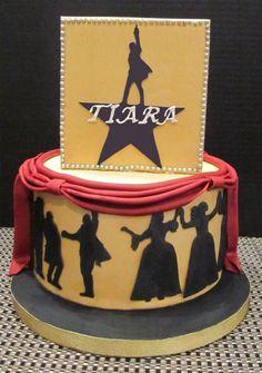 Broadway Musical - Hamilton Cake - Cake by ShelleySugarCreations - CakesDecor