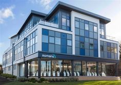 Romans Head Office (Bracknell) - #Fascia #Signage #EstateAgents
