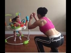 Home Workout # 22: Work Out with Your Baby! | Dr. Sara Solomon