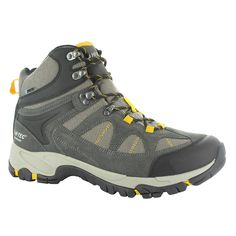 Hi-Tec Men's Altitude Lite i WP Walking Boot - The Men's Altitude Lite is a versatile walking boot which is light in weight and technically advanced. The comfortable yet durable waterproof suede and nylon mesh in the breathable upper combined with the Dri-Tec waterproof membrane keep feet dry, while the i-shield technology repels dirt and water to resist stains.