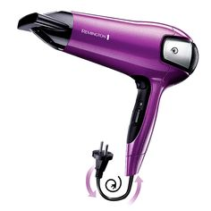 Promotie Uscator Remington 2100 W, flux de ioni Cable, Hair Dryer, Easy, Personal Care, Self Care, Salud, Cabo, Personal Hygiene, Electrical Cable