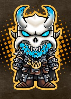 Cold Harbinger by Andriu Ilustración Epic Games Fortnite, Chibi Characters, Winner Winner Chicken Dinner, Game Logo, Cool Stickers, Poster Prints, Posters, Cuddling, Dragon Ball