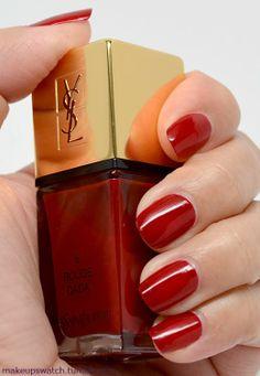 YSL La Laque Couture No. 6 Rouge Dada