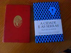 Delícias à Lareira: duas edições o mesmo livro  Blogue Literário Livro paperback/ hardcover  A Cidade e as Serras Eça de Queiróz Literatura Clássica