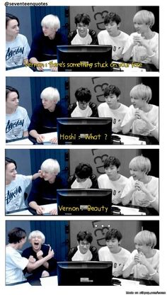 Seungkwan is not amused by HoNon   allkpop Meme Center