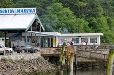 Welcome to Kelly's Brighton Marina  Located on magnificent Nehalem Bay, Kelly's Brighton Marina is the premier spot for crabbing, fishing, camping, enjoying fresh-cooked seafood, and taking in the sounds and sights of the Oregon Coast.