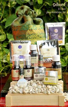 Omved 15 day Pre-wedding Kit is composed of Ayurvedic natural products  Pamper and rejuvenate your body, mind and conscience for your special day  Get a perfect synergy of inner beauty and outer radiance.