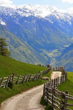 Spring in the Alps, Südtirol, Austria-our cycle trip path Places To Travel, Places To See, Places Around The World, Around The Worlds, Beautiful World, Beautiful Places, Beautiful Scenery, Simply Beautiful, Absolutely Gorgeous