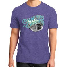Coal miners daughter District T-Shirt (on man)