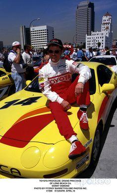 04/16/99 Toyota Pro/celeb. Grand Prix Race of Long Beach, CA. Donny Osmond Photo by Fitzroy Barrett/Globe Photos, Inc.