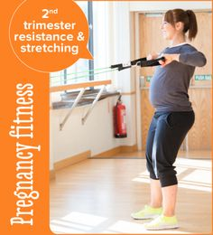 Pregnant Woman Exercising ** You can find out more details at the link of the image. Pregnancy Workout, Trimesters Of Pregnancy, Pregnancy Fitness, Second Trimester Workouts, 2nd Trimester, Morning Sickness, Weight Training, Weight Lifting, All About Pregnancy