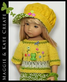 Summer Outfit for Little Darlings Dianna Effner 13 Maggie & Kate Create