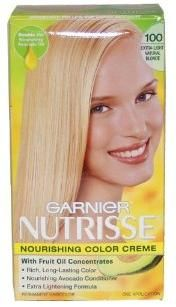 Garnier Nutrisse Hair Color is a nourishing hair color which nourished hair and creates better color.